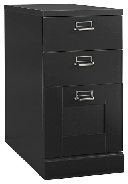 3 Drawer Pedestal - Contemporary - Filing Cabinets - by ShopLadder