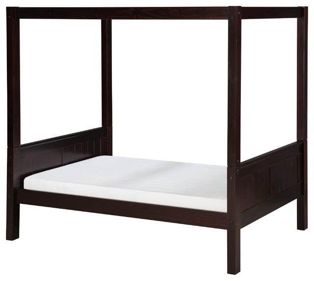 Camaflexi canopy bed panel headboard contemporary for High end canopy beds