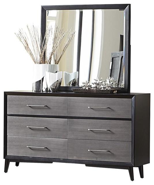 Ranberg Mid Century Modern Dresser And