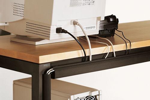 Cord Management Straps contemporary cable management