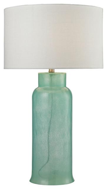 Dimond Lighting D2654 Glass Bottle 1-Light Table Lamp.