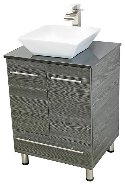 windbay windbay 24 free standing bathroom vanities sink bathroom vanities and sink consoles. Black Bedroom Furniture Sets. Home Design Ideas