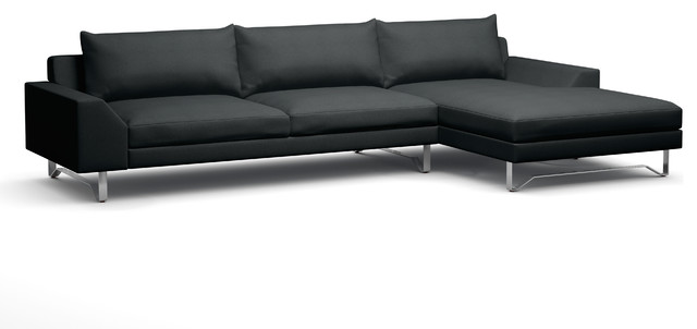 Series 7 sofa with chaise contemporary sectional for Chaise serie 7