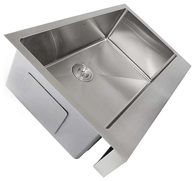 Nantucket Sinks Ezapron30 Patented Design Stainless Steel