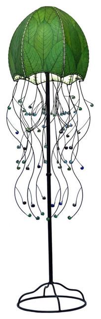 Jellyfish Floor Lamp in Green