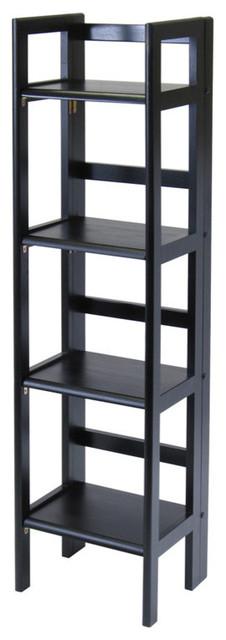 Terry Folding Bookcase Black.