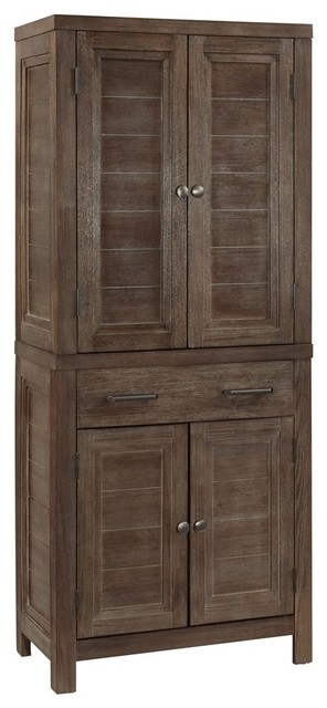 Barnside Pantry - Farmhouse - Pantry Cabinets - by Home Styles ...
