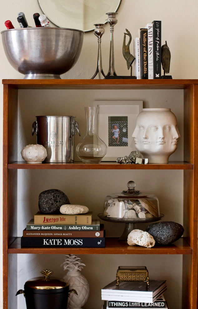 Eclectic home design photo in New York