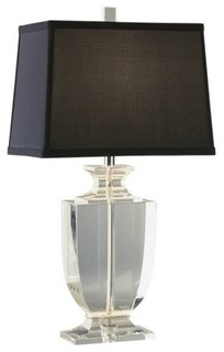 artemis accent lamp by robert abbey modern table lamps by lumens
