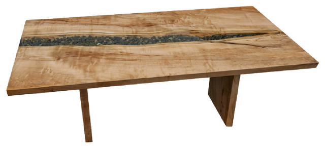 River Run Dining Table Craftsman Dining Tables By Live Edge