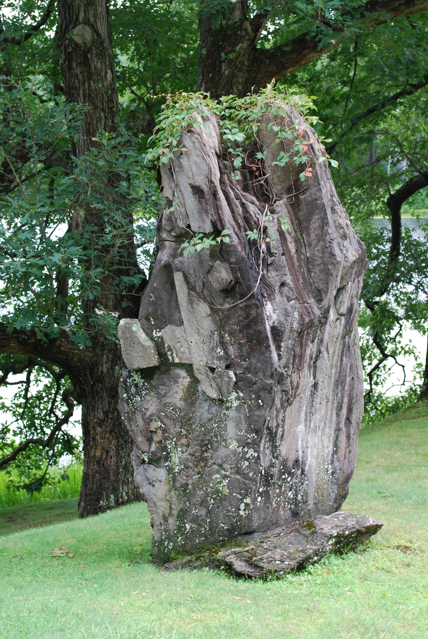 Boulder at Innisfree Garden, NY