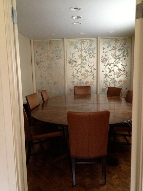 What To Do About Dining Room Storage Closet Doors