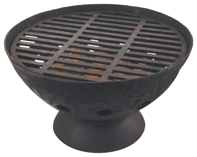 Low Cast Iron Barbecue Grill View In Your Room Houzz