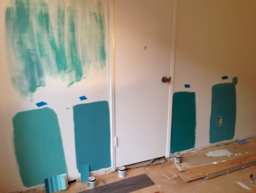 What Color For Accent Wall Turquoise