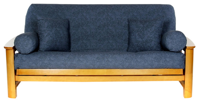 Denim Futon Cover Contemporary Futon Covers By Lifestyle Covers