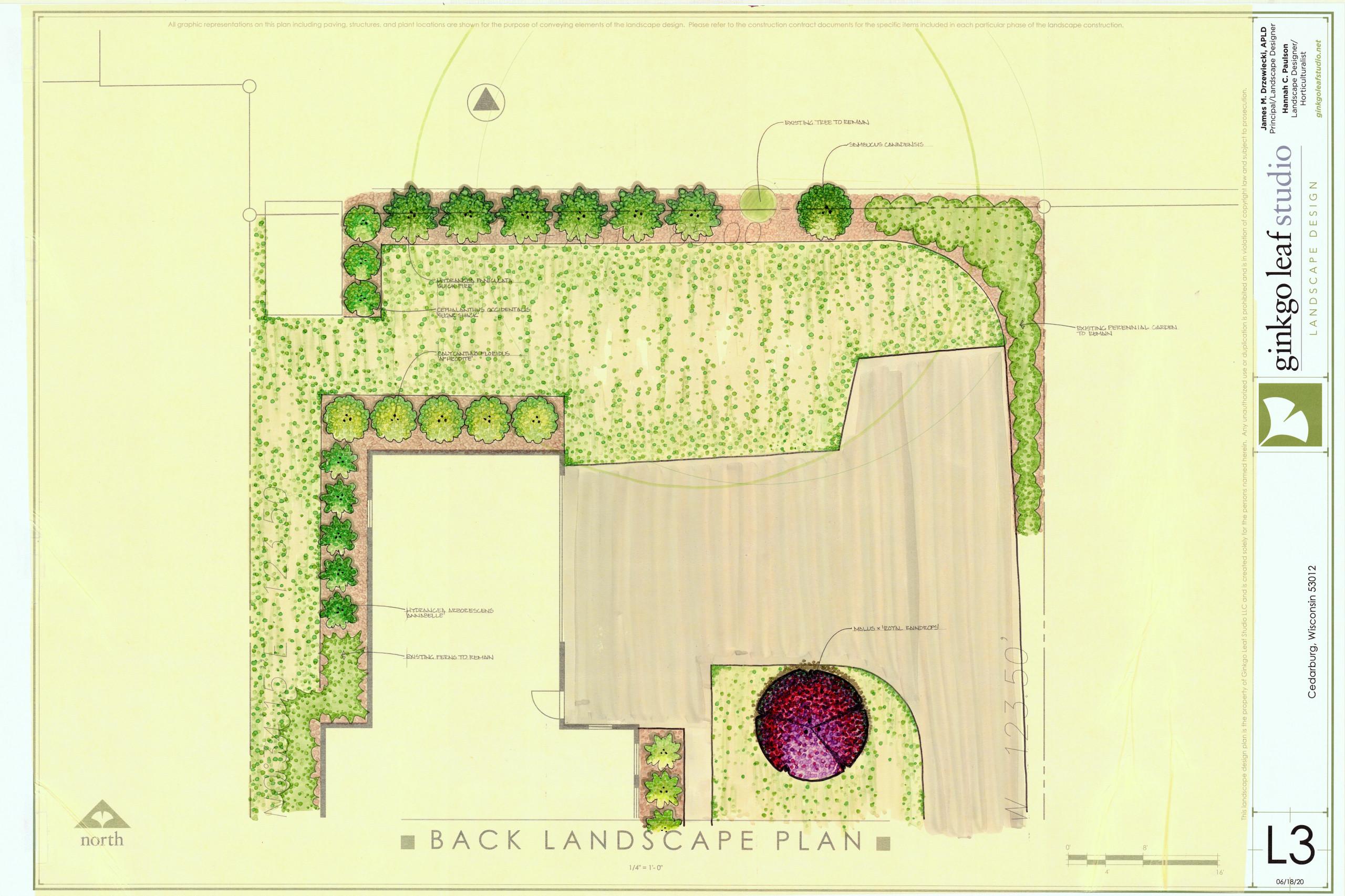 Arts & Crafts Patio + Landscape - Cedarburg
