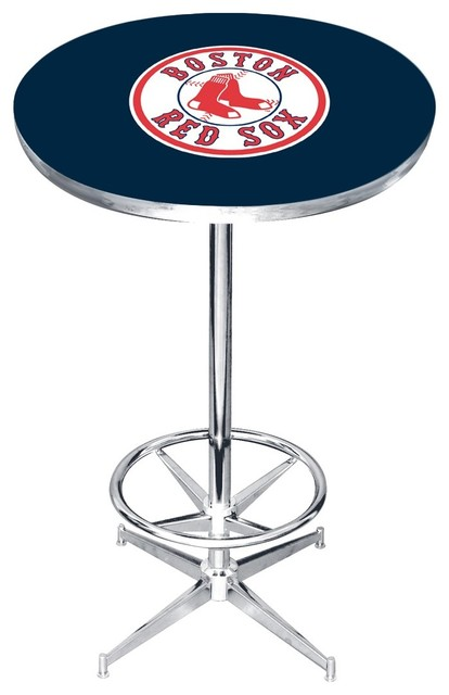 Boston Red Sox Pub Table Contemporary Indoor Pub And