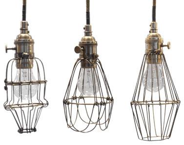 Workshop Cage Lights