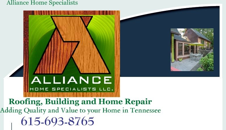 Alliance Roofing & Home Repair - Home - Old Hickory, TN