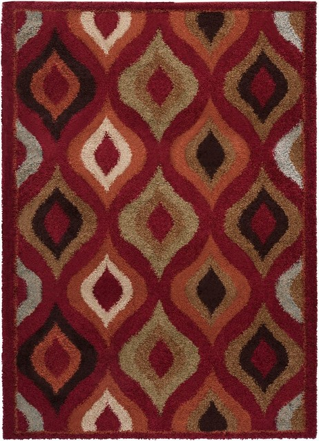 Plush Alfredo Area Rug Contemporary Area Rugs By Rugpal