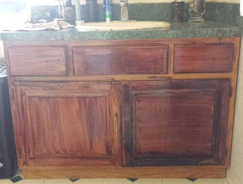 Stained Furniture project gone wrong?!?