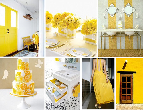 Little House: Mood Board :: Pantones Solar Power