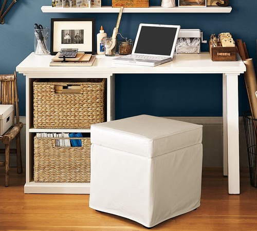 Pottery Barn traditional home office