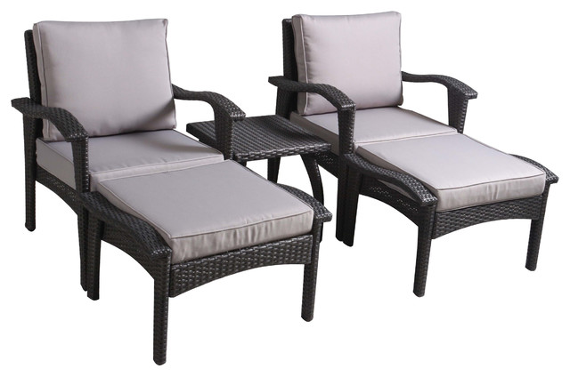 Good Contemporary Outdoor Lounge Sets by GDFStudio