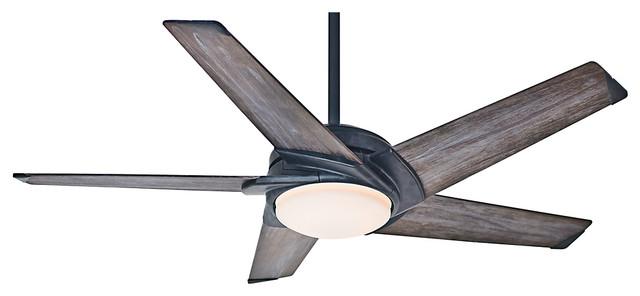 """Casablanca Fan 59093 Stealth Aged Steel 54"""" Ceiling Fan"""