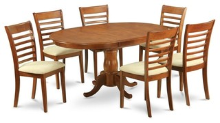 7-Piece Oval Dining Set