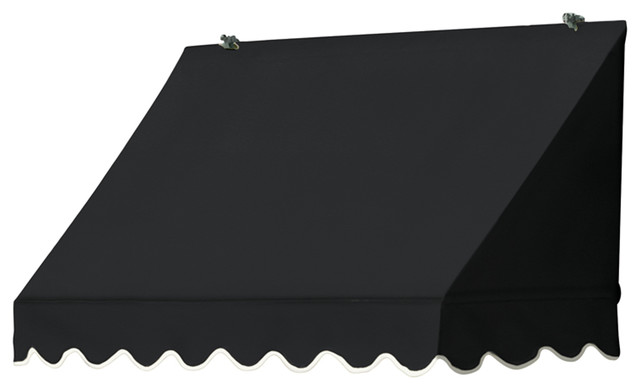 Shadesaver Awning, Black, 4&x27;.