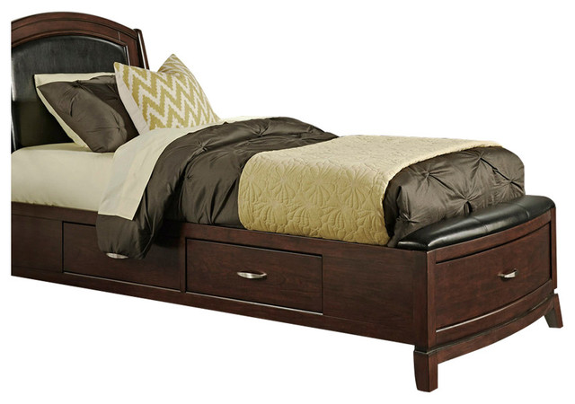 One Sided Storage Bed, Twin.