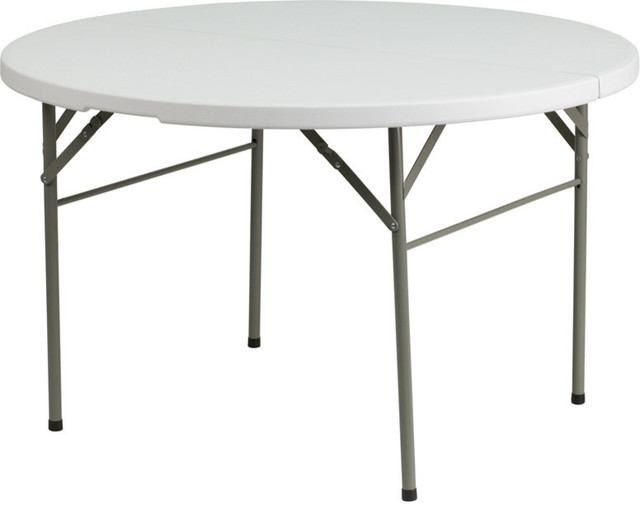 Flash furniture flash furniture round bi fold granite for 52 folding table