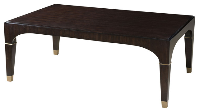 Theodore Alexander Vanucci Eclectics Modernus Cocktail Table Transitional Coffee Tables By