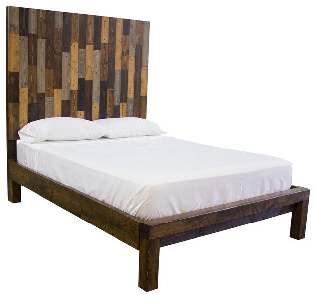Exceptionnel Extra Tall Solid Wood Forester Bed, Headboard   Rustic   Panel Beds   By  James And James Furniture