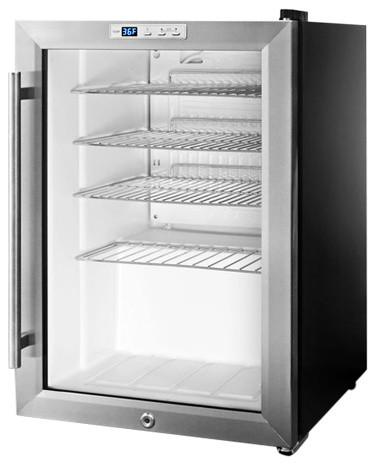 Compact Commercial Glass Door Beverage Cooler Scr312l.