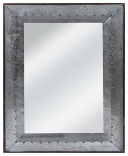 Galvanized Tin Wall Mirror Industrial Wall Mirrors