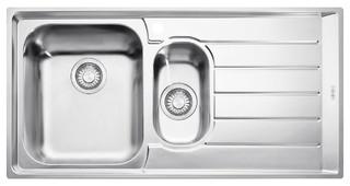 Franke NEX651RHD Neptune 1 and 1/4 Bowl Right Hand Drainer Sink