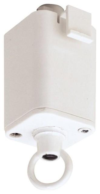 Elco Ep815 2 Circuit Track Accessories Pendant Adapter White