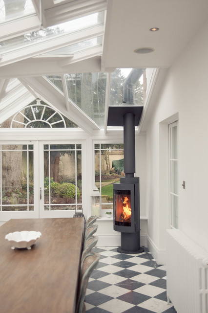 Stoves In Conservatories Traditional Conservatory