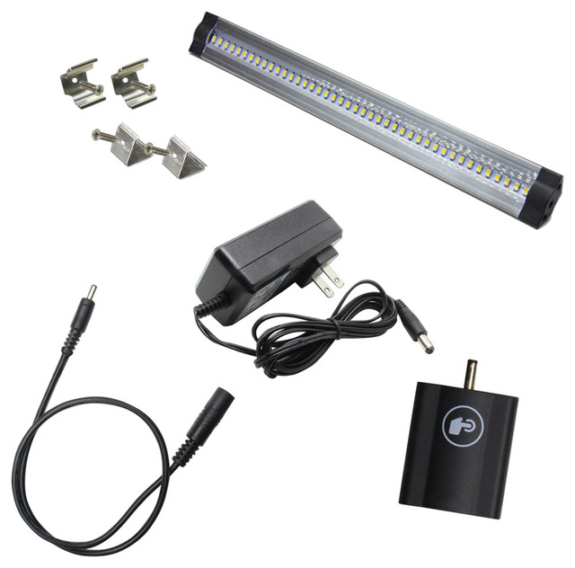 Solid Apollo LED Dimmable LED Light Bar Kit - Undercabinet Lighting | Houzz