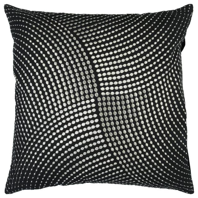 Midnight Pillow 18x18x4, Polyester Fill.