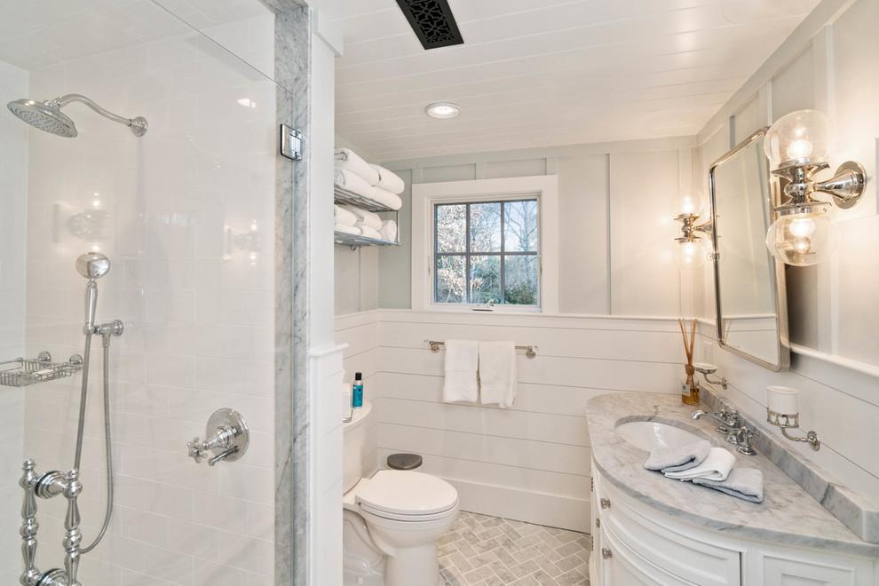 Home design - transitional home design idea in Boston