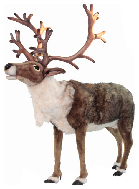 Life-Size Nordic Reindeer Stuffed Animal