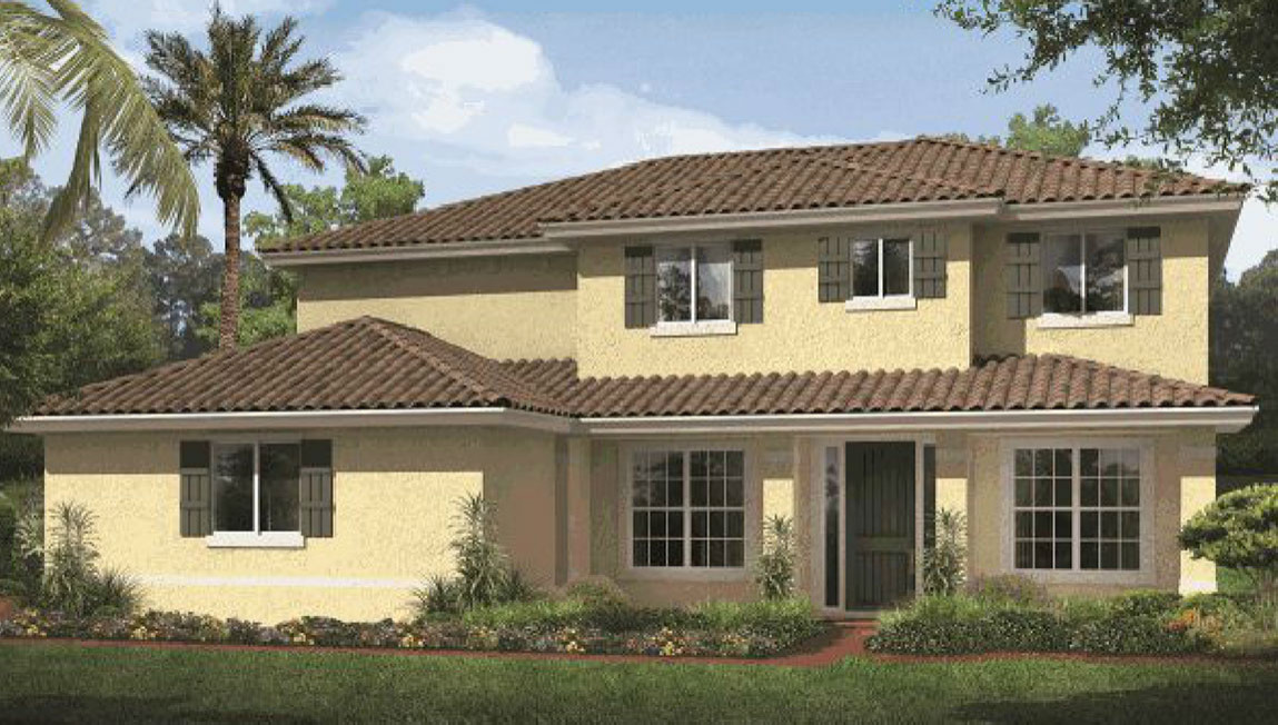 Traditional Residential Rendering