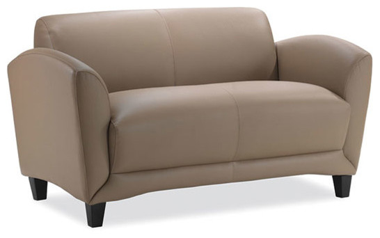 Manhattan Loveseat, Black, 34x56.