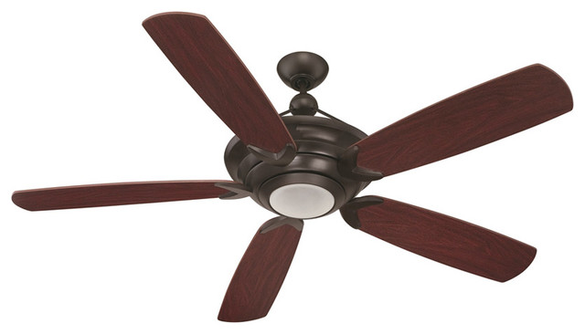 Craftmade Vesta Oiled Bronze 60 Ceiling Fan With Remote Control.