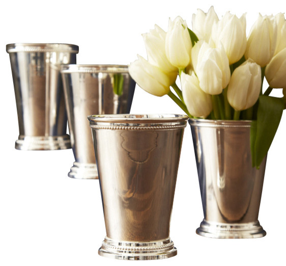Mint Julep Cups Set Of 4 Traditional Vases By Zhush Llc