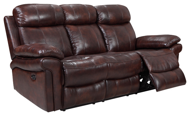 rhythm power reclining leather sofa traditional sofas by rh houzz com recliner leather sofas beige reclining leather sofa sets