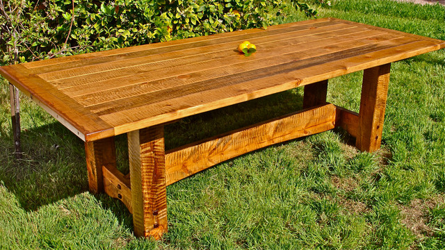 Farm Kitchen Table Rustic Dining Tables Phoenix By Arizona - Ranch style table